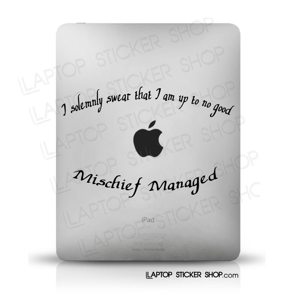 Laptop Sticker Shop: Harry Potter Your Mac