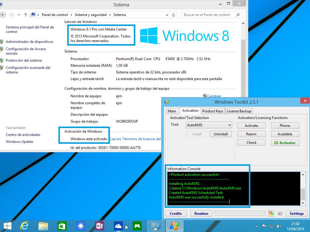 Windows 8 Aio Spanish