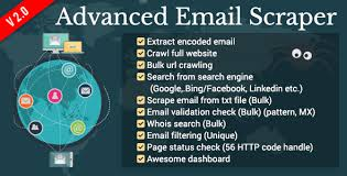 Download CodeCanyon Advanced Email Scraper v1.1