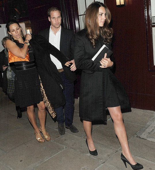 Duke and Duchess of Cambridge met up at Loulou's in Mayfair, also Pippa Middleton and Princess Eugenie