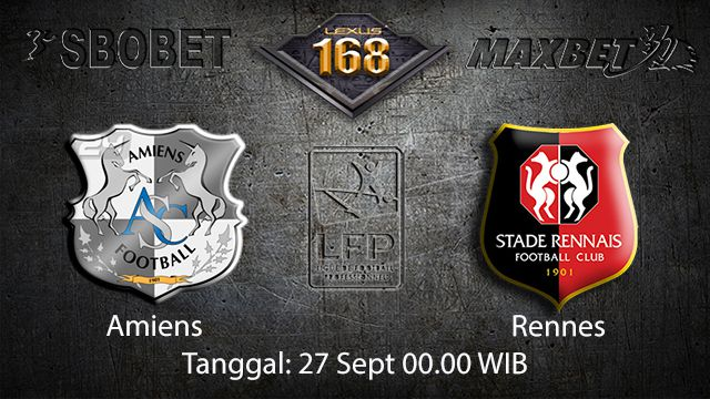 Prediksi Bola Jitu Amiens vs Rennes 27 September 2018 ( French Ligue 1 )