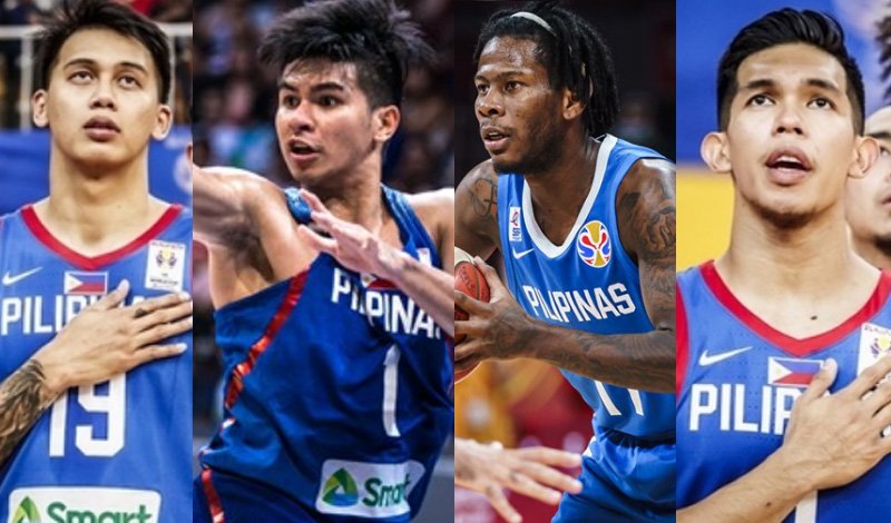 Gilas Pilipinas Official 12-man Lineup for FIBA Asia Cup Qualifier vs Indonesia
