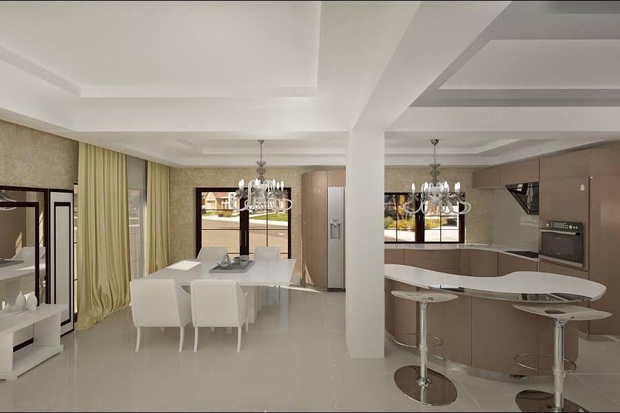 amenajare living casa moderna Navodari