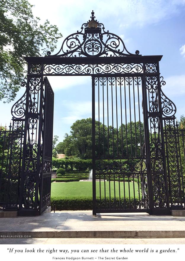 Vanderbilt Gate Central Park Conservatory Garden