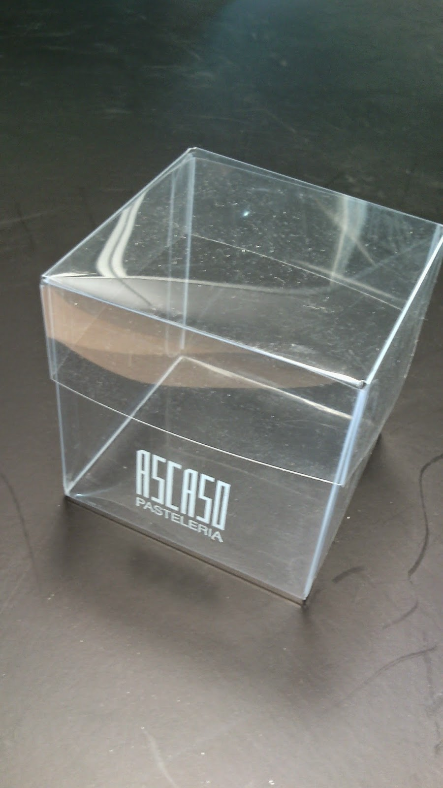 Papel line 12 cajas de pl stico envases pvc acetato - Cajas de plastico ...