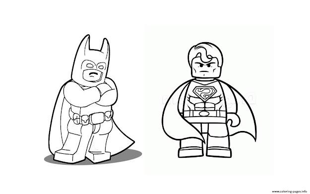 Batman Vs Superman Lego  Colouring Book To Print Free Batman   Within Elegant Lego Batman Coloring Sheets