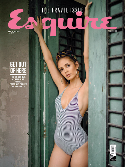 Megan Young Esquire Travel Issue May 2017 Cover