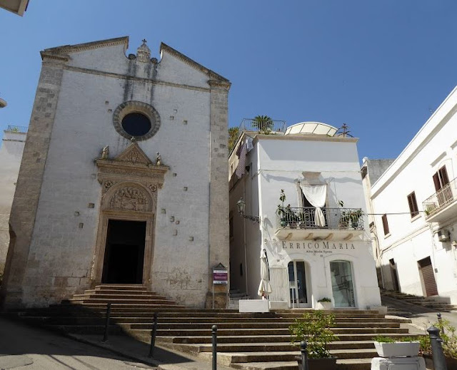 la Chiesa dello Spirito Santo a ostuni