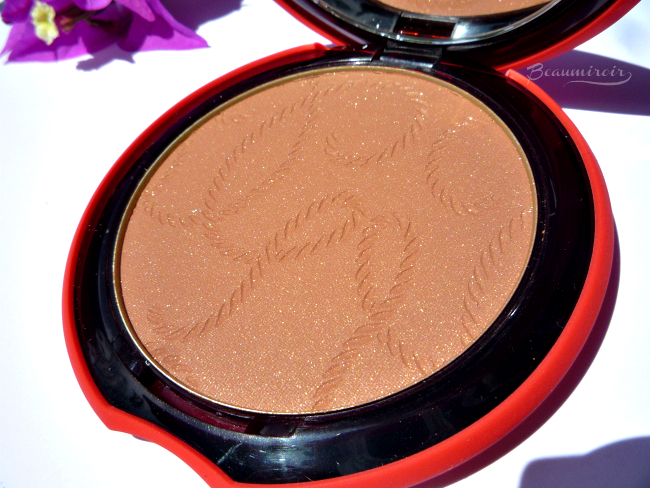 Guerlain My Terracotta Summer 2016 bronzer with nautical embossed pattern