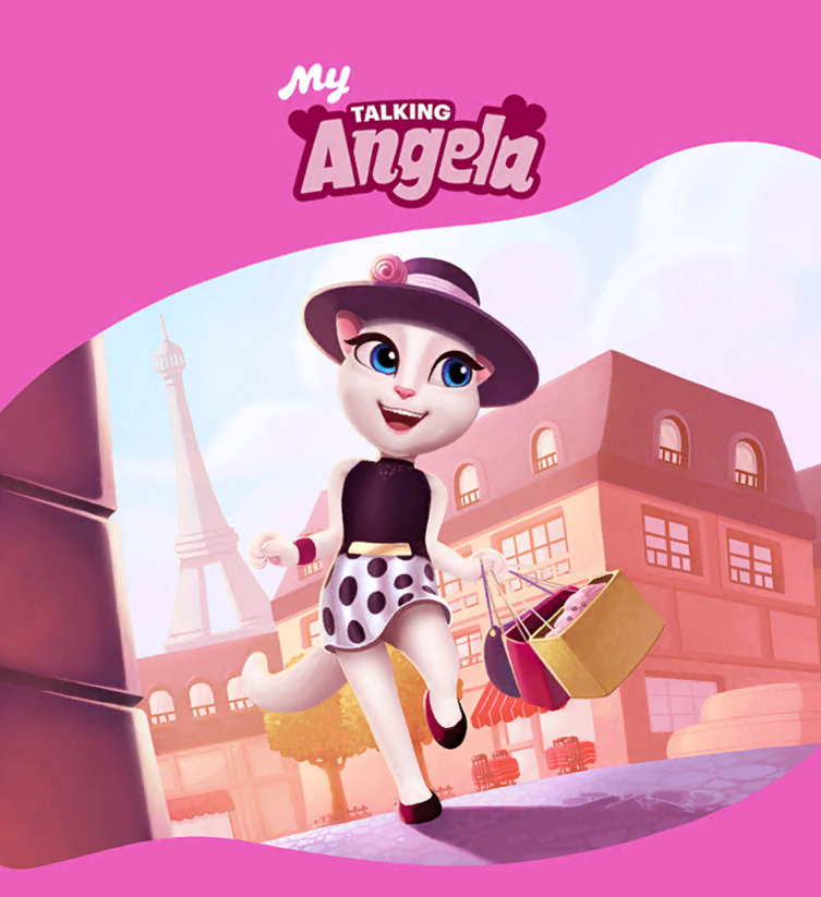 My Talking Angela (All Versions) Hack ifunbox iap ios ~ IAP