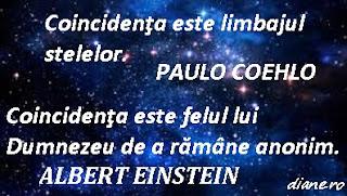 Coincidenţa este limbajul stelelor