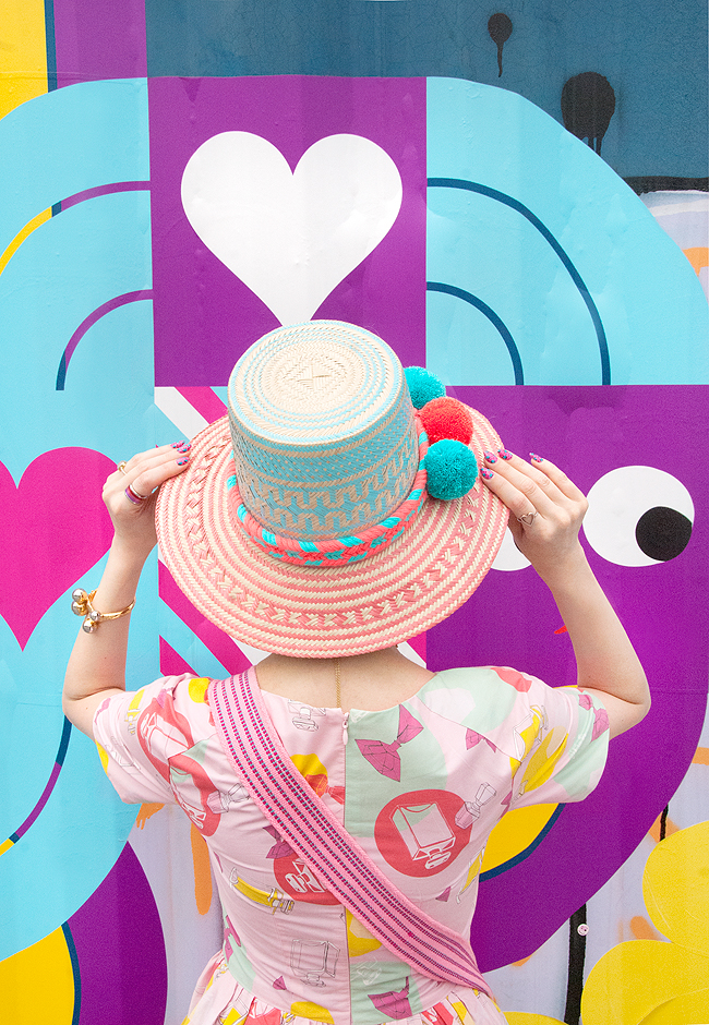 Wayuu hat, fashion blogger, inflluencer