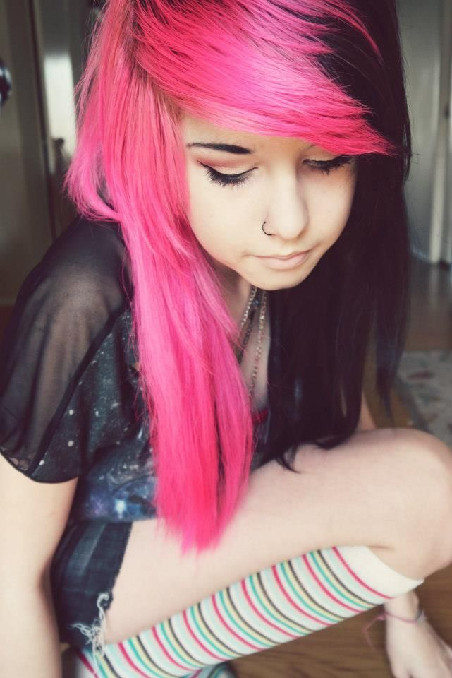 Long and Colorful Beautiful Hairstyles  The HairCut Web
