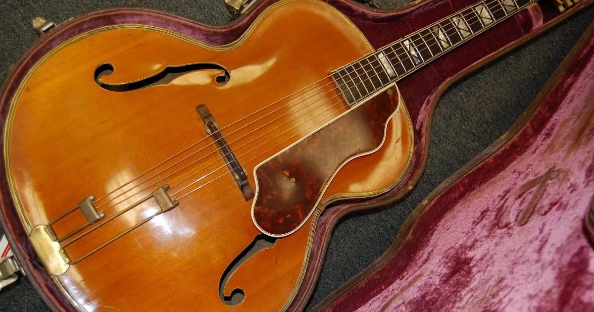 Vintage Guitarz Pre War 1940 Epiphone Emperor Guitar