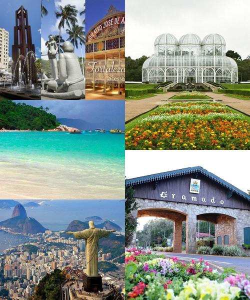 #05 - Lugares que desejo conhecer no Brasil. #DescobrindoOBrasil