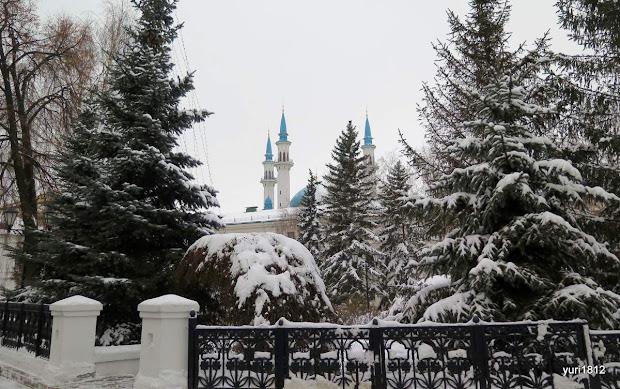 Минареты мечети Кул Шариф.