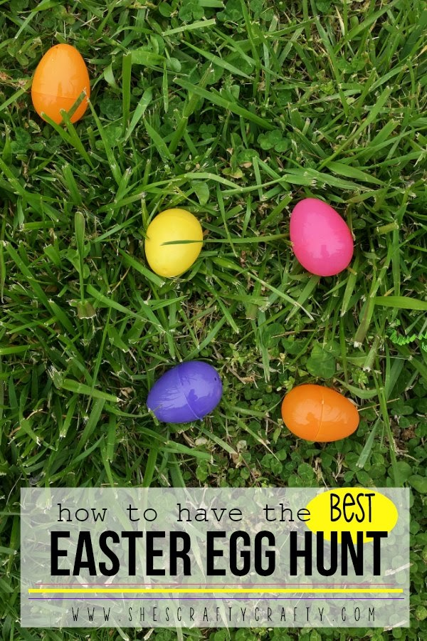 How to have the BEST Easter Egg Hunt - tips and tricks to make your Easter Egg Hunt the best ever