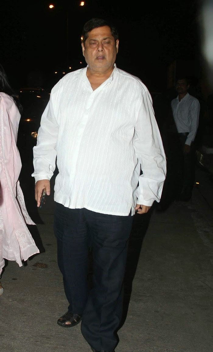 David Dhawan, Pics from Condolence Meeting of Late Filmmaker Ravi Chopra