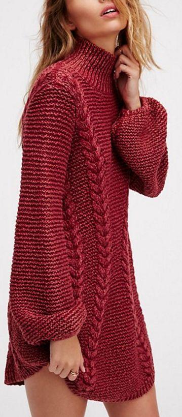 sukienka na drutach z warkoczami