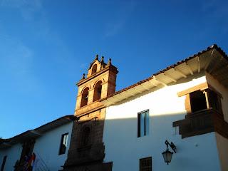 A Bela Fachada do Palacio Nazarenas