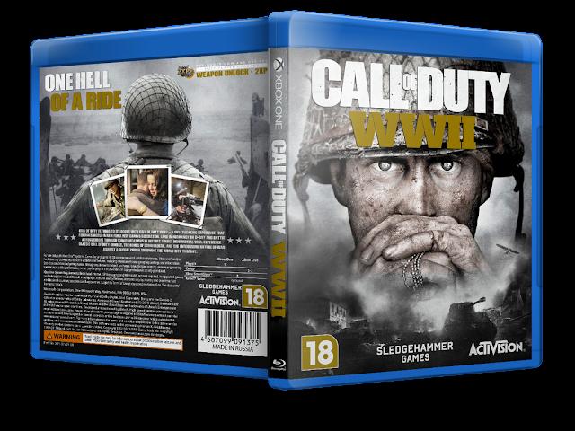 Capa Call of Duty: WWII Xbox One