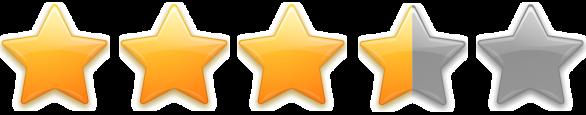 3.5 star