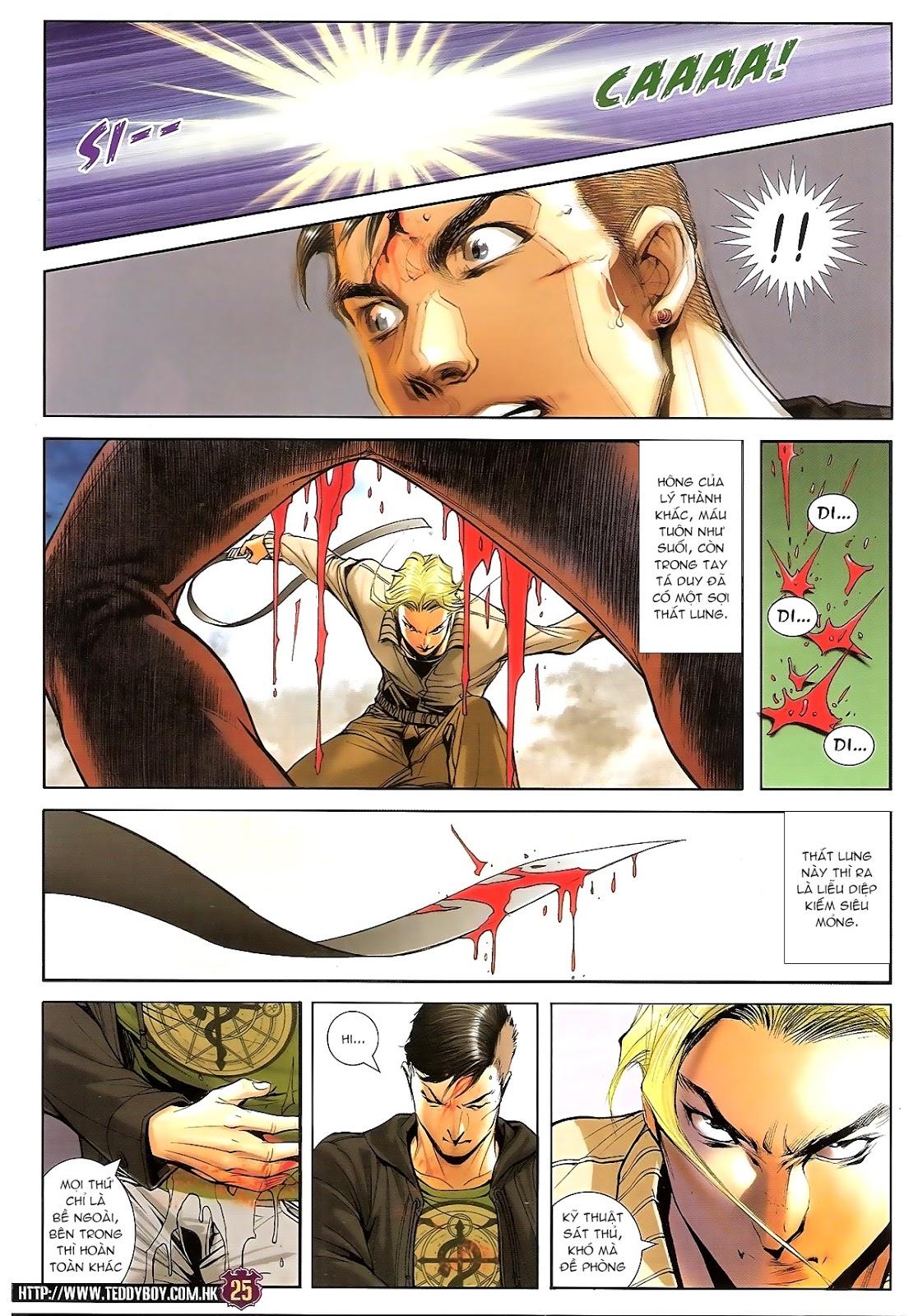 Người Trong Giang Hồ chapter 1673: tắm máu lưu phù sơn trang 20