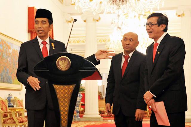 Didesak Cabut Remisi Pembunuh Wartawan, Jokowi: Tanya Menkumham