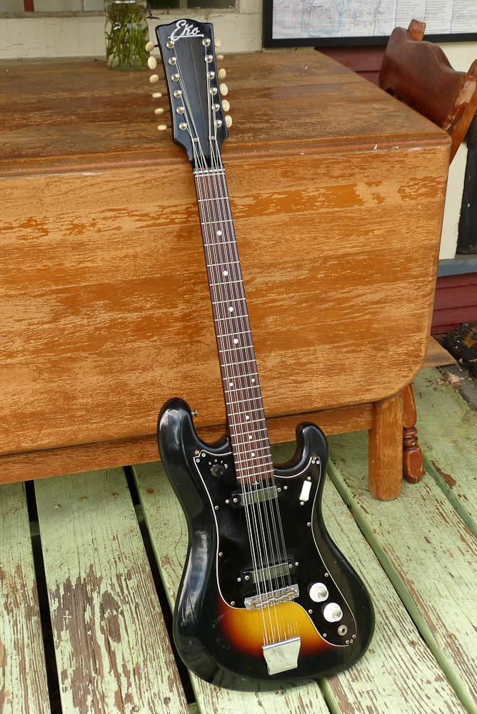 eko cobra xii 12 string electric guitar. Black Bedroom Furniture Sets. Home Design Ideas