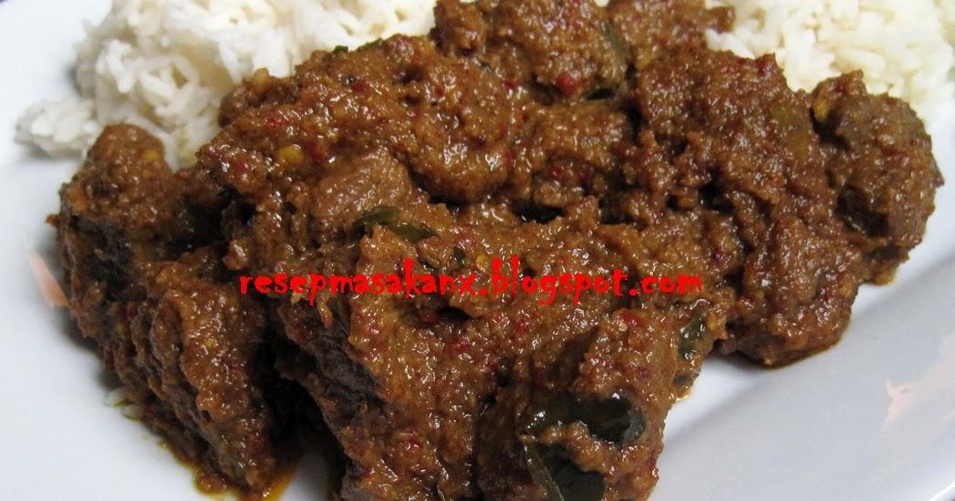 Rendang Daging Sapi Resep Masakan Untuk Mereka Yang