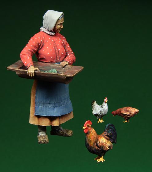 Figurines civiles et accessoires 3546-1