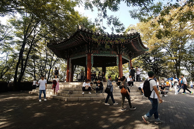 Pavilion at the Namsan Seoul Tower (남산서울타워)