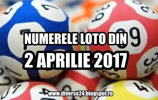 Numerele loto iesite la tragerile din 2 aprilie