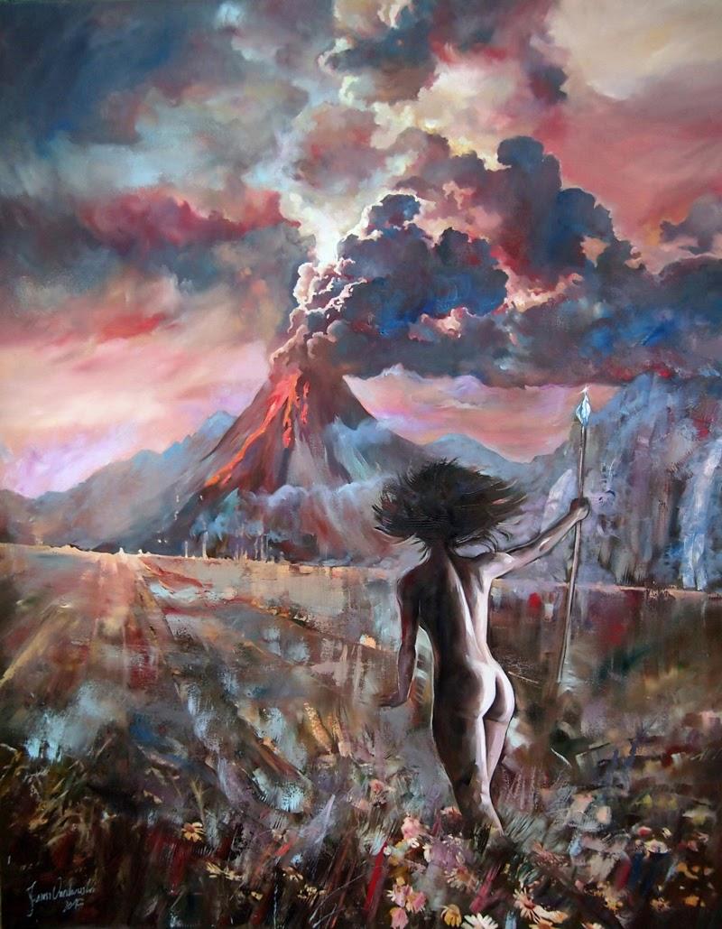 Paintings by Janusz Orzechowski from Poland.