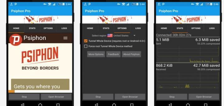 Download Psiphone pro v130 Apk Terbaru