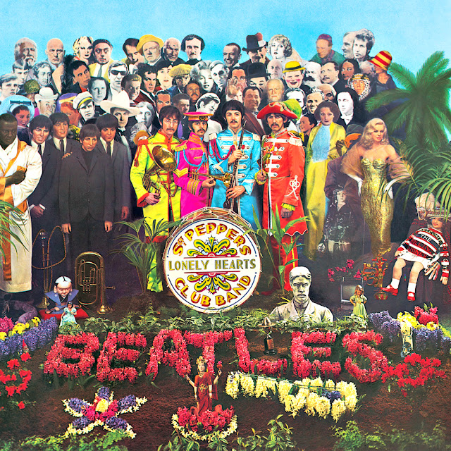 Beatles Sgt. Pepper's Lonely Hearts Club Band Album