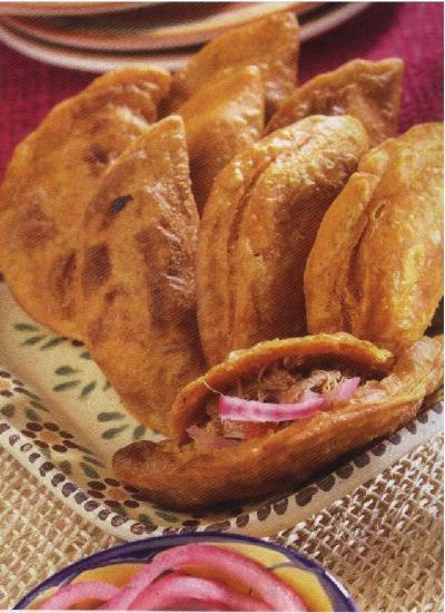 Receta de empanadas yucatecas