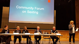 Community Forum on Sexting - Twitter Summary