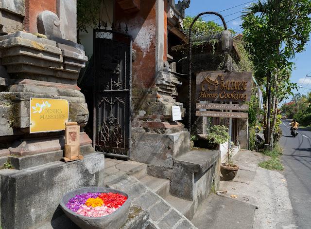Balinese Home cooking Ubud Bali