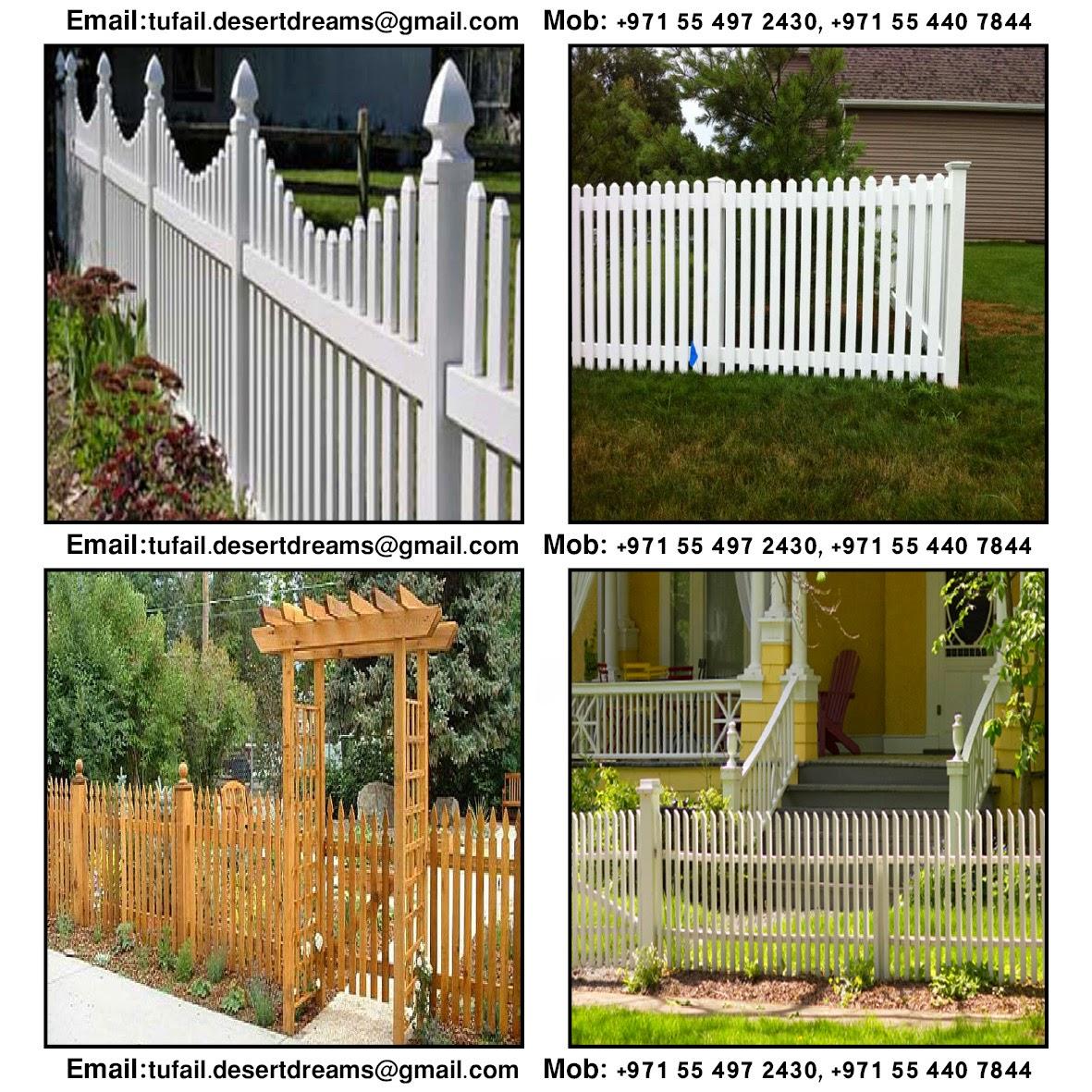Creative Wooden Garden Fence Gates