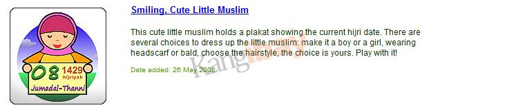 widget kalender hijriah lucu