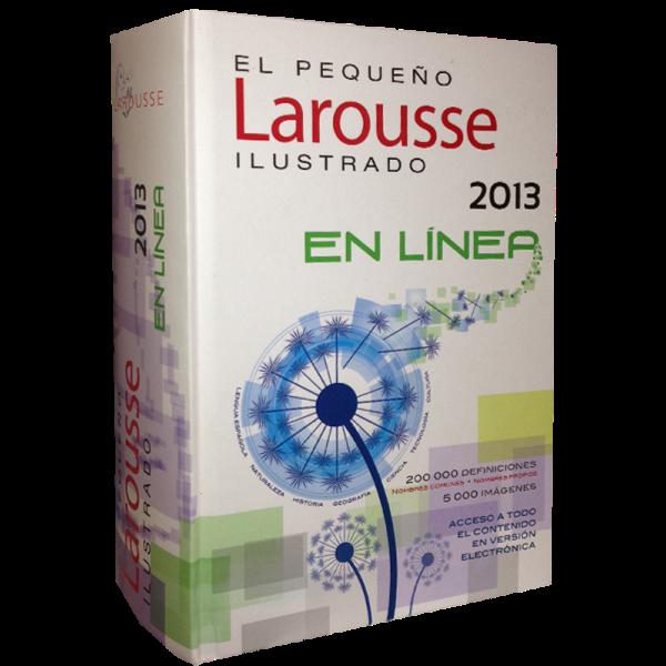 El Pequeño Larousse Ilustrado 2013. En línea.