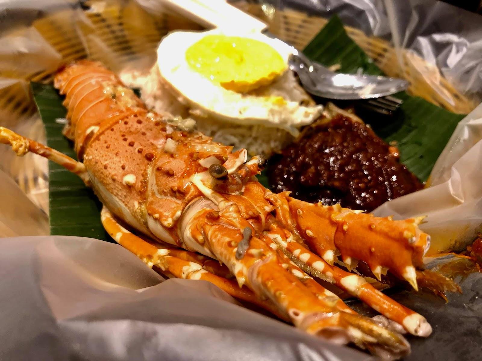 Tempat Makan Sedap Di Johor Nasi Lemak Lobster Jb Aku Sis Lin