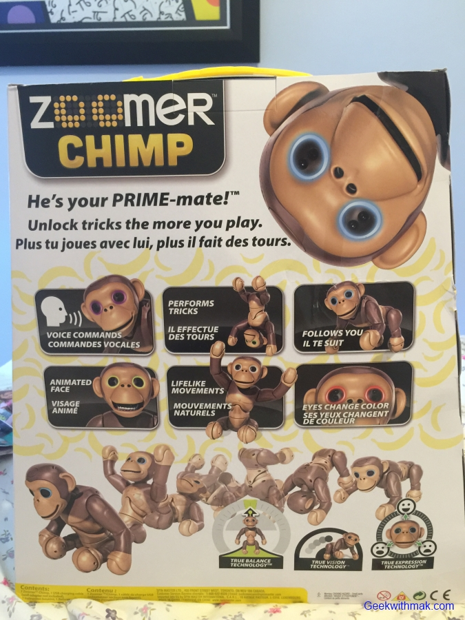 Toy Review Zoomer Chimp Spin Master Geek With Mak