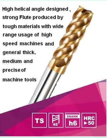 Dao Phay Carbide bo đầu 4 me siêu cứng