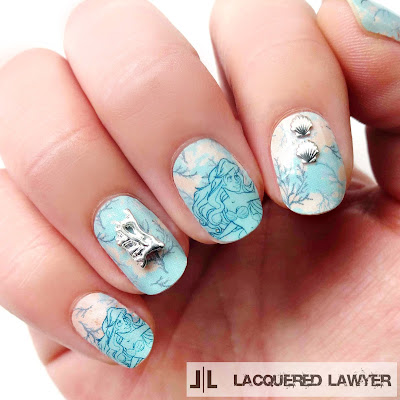 Little Mermaid Nails