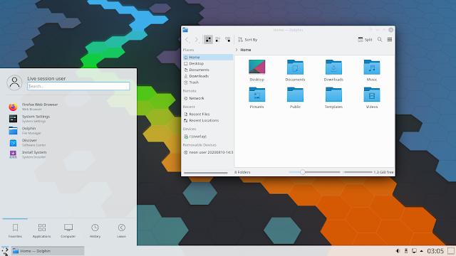 Entorno de Escritorio KDE Plasma