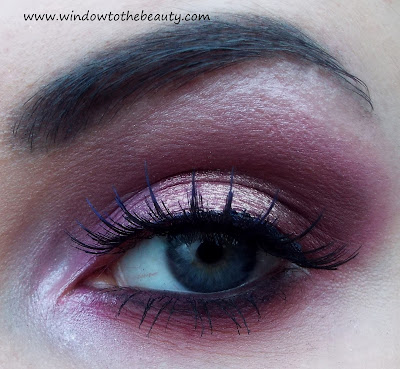 pink brown makeup