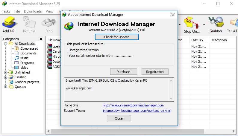 internet download manager latest version free download filehippo