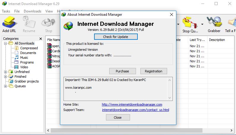 internet download manager version 6.29 build 2 crack